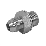 "JIC 4 Male x 1/4"" BSPP Male Straight 3800-04-04 Adapter"