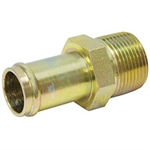 "1/2"" Hosebarb x 1/2"" NPT Male Straight 4404-08-08 Adapter"