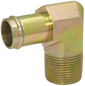 "3/4"" Hosebarb x 3/4"" NPT Male 90 Degree Elbow 4501-12-12 Adapter"