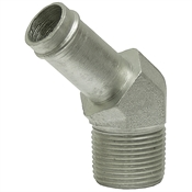 "1"" Hosebarb x 1"" NPT Male 45 Degree Elbow 4503-16-16 Adapter"
