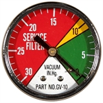 Filter Indicator Gauge Use On Suction Line Only