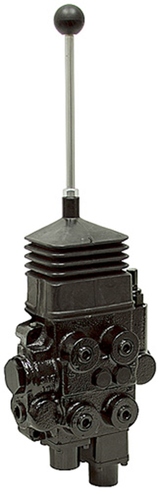 Case Hydraulic Joystick Controls : Spool gpm joystick loader control valve directional
