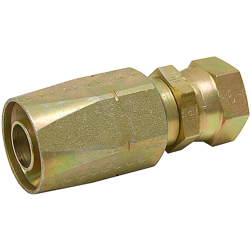 Quot r hyd hose to jic f reuseable coupling reusable