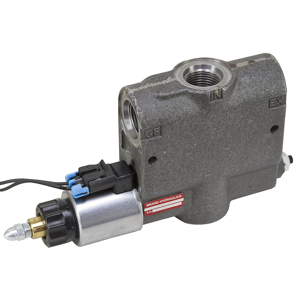 15 gpm 12 vdc brand cep1500 electric flow control flow for Hydraulic motor control valve
