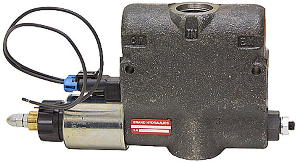30 gpm 12 vdc brand cep3000 electric flow control flow for Motorized flow control valve