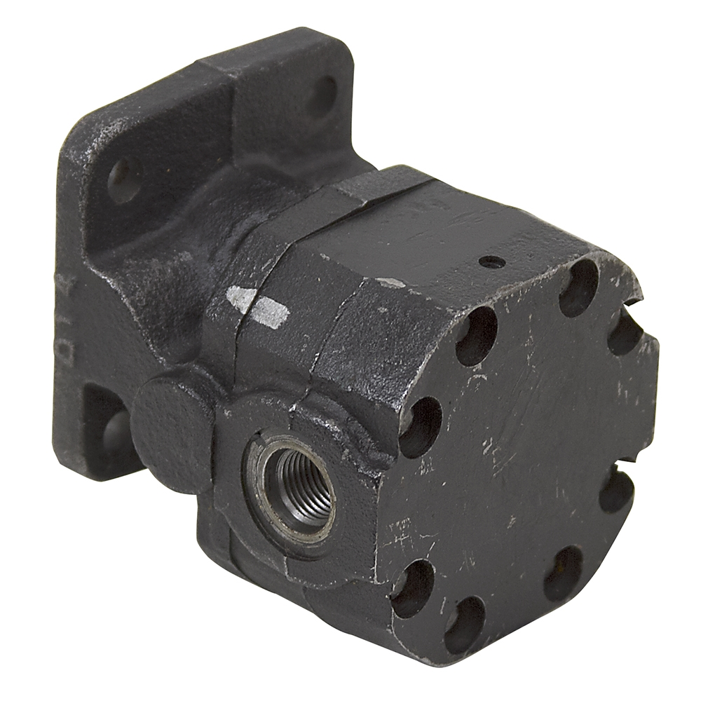 Cu in barnes k21 2670017 hydraulic pump gear pumps for Hydraulic motor and pump