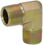 "3/8"" NPT Male x 3/8"" NPT Male 90 Degree Elbow 5500-06-06 Adapter"