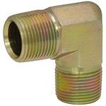 "1/2"" NPT Male x 3/8"" NPT Male 90 Degree Elbow 5500-08-06 Adapter"