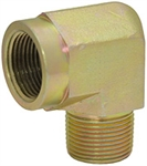 "1/4"" NPT Male x 1/4"" NPT Female 90 Degree Elbow 5502-04-04 Adapter"