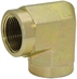 "3/4"" NPT Female x 3/4"" NPT Female 90 Degree Elbow 5504-12-12 Adapter"