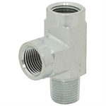 "1/4"" NPT Male x 1/4"" NPT Female x 1/4"" NPT Female Tee 5602-04-04-04 Adapter"