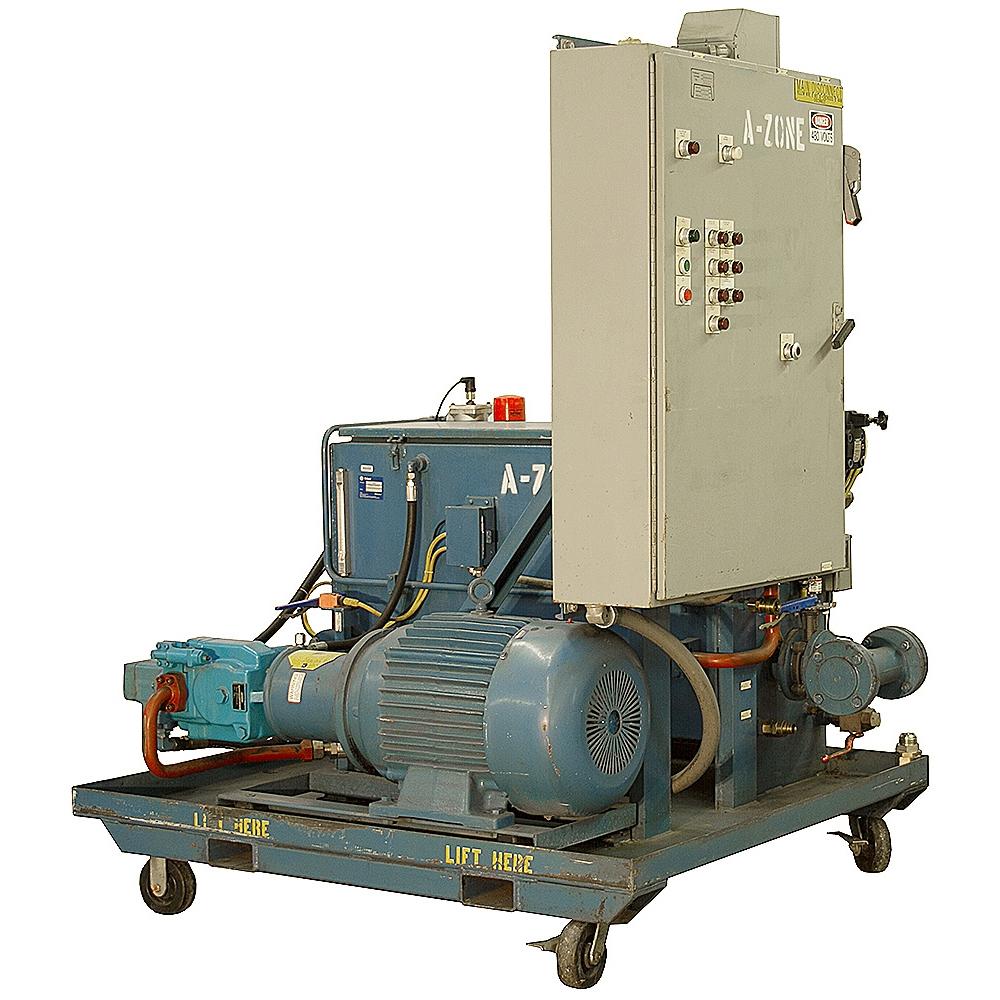 30 Hp 40 Gpm 1000 Psi Hydraulic Power Unit Delco Motor