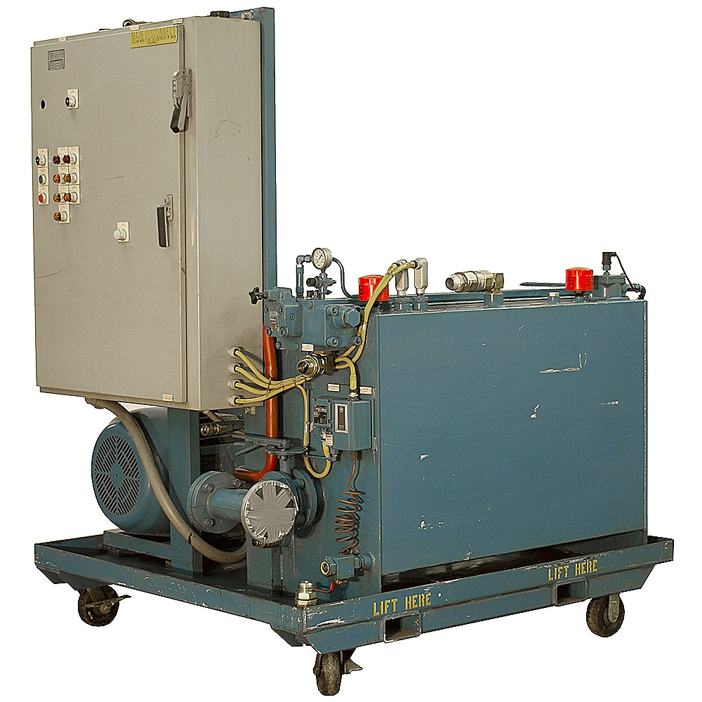 30 hp 40 gpm 1000 psi hydraulic power unit us electric for 40 hp dc motor