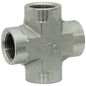 "1"" NPT Female x 1"" NPT Female x 1"" NPT Female x 1"" NPT Female Cross 5652-16-16-16-16 Adapter"
