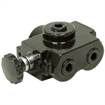"1/2"" NPT 20 GPM Selector Valve Prince SS-2A1D"