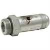 "JIC16M TO SAE16M LONG CONNECTOR W/1/8"" NPT PORT"