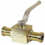 "3/4"" Split Flange Steel Ball Valve"