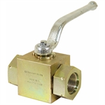 SAE 16 4500 PSI Steel Ball Valve