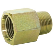 "SAE 12 Female x 1/2"" NPT Male Straight 6404-12-08 Adapter"