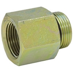 "SAE 6 Male x 1/2"" NPT Female Straight 6405-06-08 Adapter"