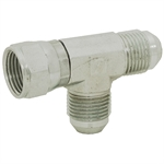 JIC 4 Male x JIC 4 Female Swivel x JIC 4 Male Tee 6602-04-04-04 Adapter