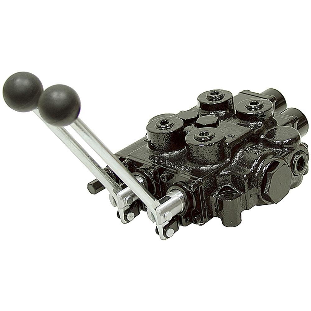 2 spool 25 gpm prince rd522gcga5a4b1 oc valve w float for Hydraulic motor spool valve