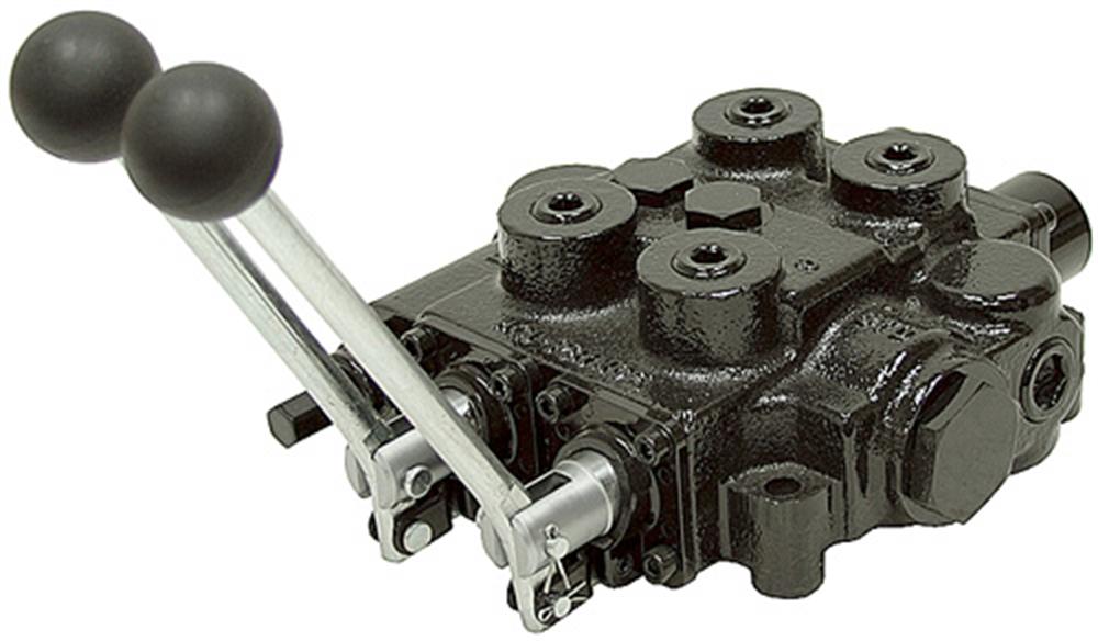 2 spool 25 gpm prince rd522ccaa5a4b1 oc valve for Hydraulic motor spool valve
