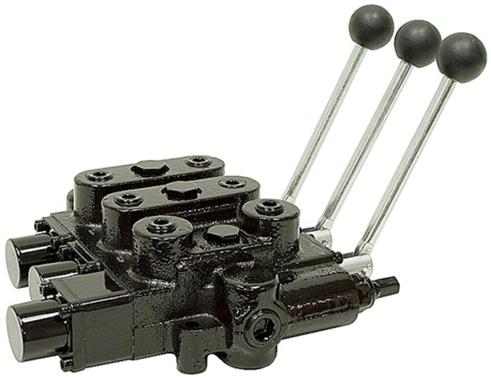 3 spool 25 gpm prince rd532gccgaa5a4b1 oc valve for Hydraulic motor spool valve