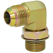 JIC 12 Male x SAE 16 Male 90 Degree Elbow 6801-12-16 Adapter