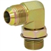 JIC 8 Male x SAE 10 Male 90 Degree Elbow 6801-08-10 Adapter