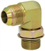 JIC 8 Male x SAE 12 Male 90 Degree Elbow 6801-08-12 Adapter