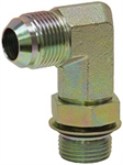 JIC 4 Male x SAE 4 Male 90 Degree Elbow 6801-L-04-04 Adapter