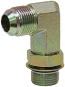JIC 6 Male x SAE 6 Male 90 Degree Elbow 6801-L-06-06 Adapter