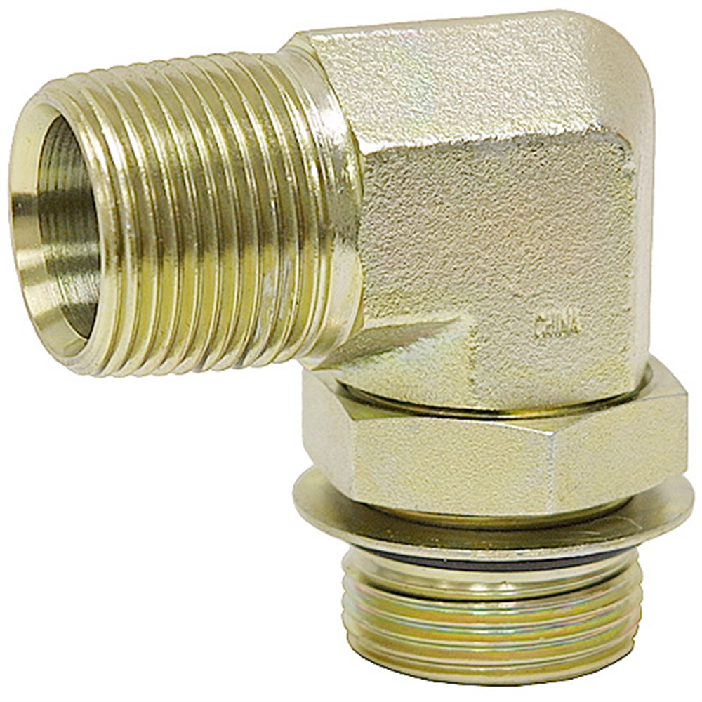"""Details about  /SAE 6 Male x 3//8/"""" NPT Male Straight 6401-06-06 Adapter 9-6401-6-6"""