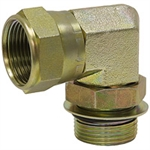 SAE 4M To JIC 4F Swivel 90 Elbow