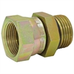 "SAE 5 Male x 1/4"" NPT Female Swivel Straight 6900-05-04 Adapter"
