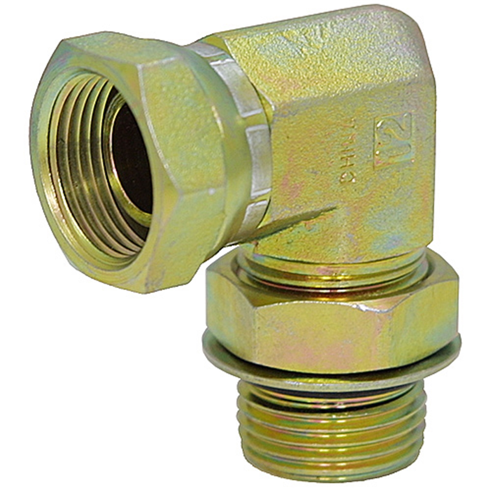 Aluminum 90 Degree Elbow One Piece Full Flow 4AN to 1//8 NPT Forged Male Flare Coupling Pipe Union Fittings Black