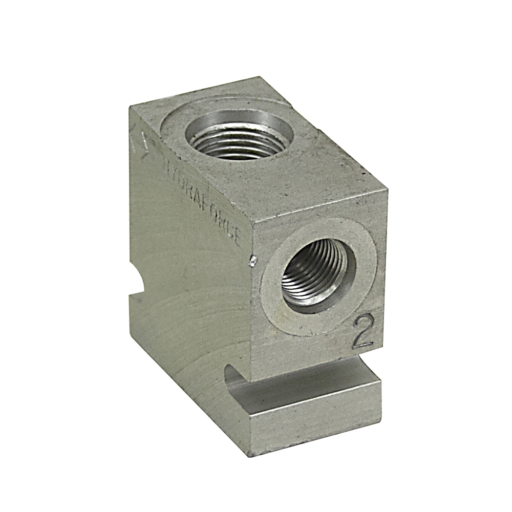 Hydraulic Valve Parts : Hydraforce series way housing  valve parts