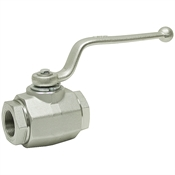 1-1/4 NPT Carbon Steel 5000 PSI Ball Valve