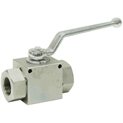 "1/2"" NPT Carbon Steel 7250 PSI Ball Valve"