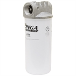 "1-1/2"" NPT 32 GPM Suction Line Filter Zinga LE-25"
