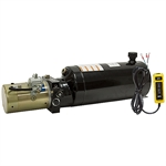 12 Volt DC 1.3 GPM 2500 PSI SPX SA Power Pack 2.5 Gallon Tank