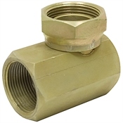 1-1/4 NPTF To 1-1/4 NPTF 90 Swivel Elbow