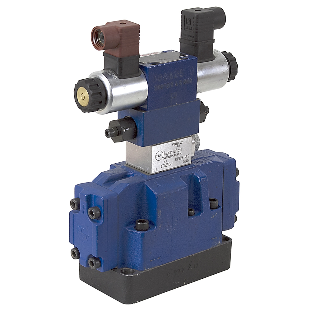 Rexroth Stackable 12 Volt Dc Solenoid Activated