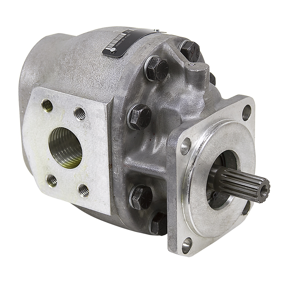 Cu in parker 0183940 hydraulic pump gear pumps for Hydraulic motor and pump