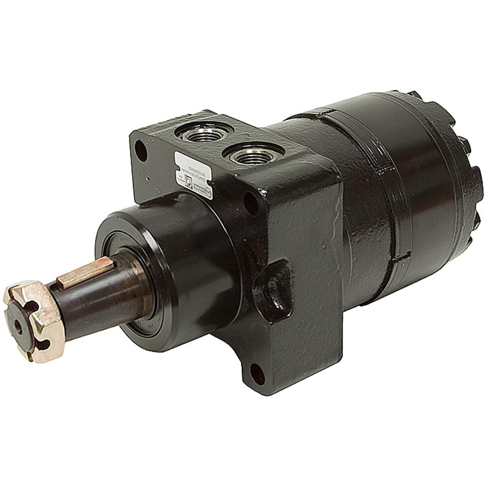 Hydraulic Wheel Hub Motors : Cu in white re wheel mount hyd motor