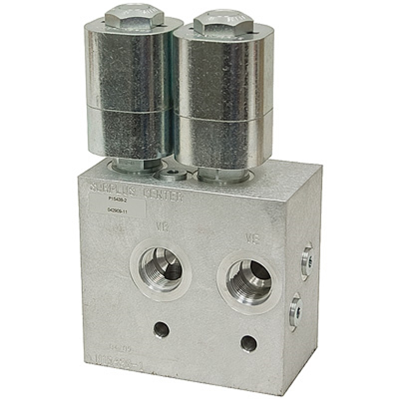 12v Hydraulic Selector Valve : Sae gpm double selector valve volt dc p
