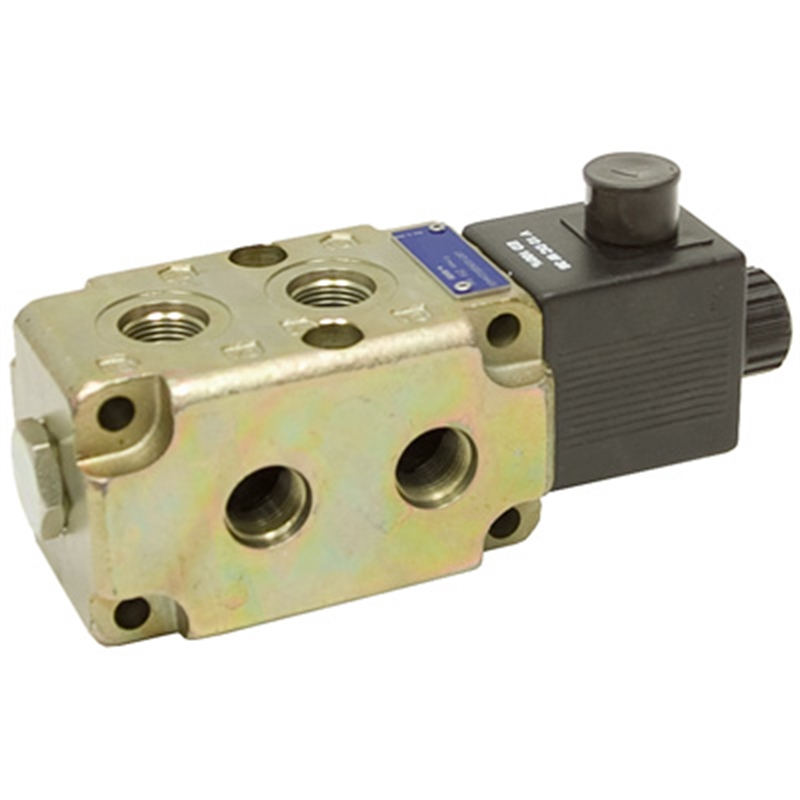 12v Hydraulic Selector Valve : Vdc gpm sae double selector valve