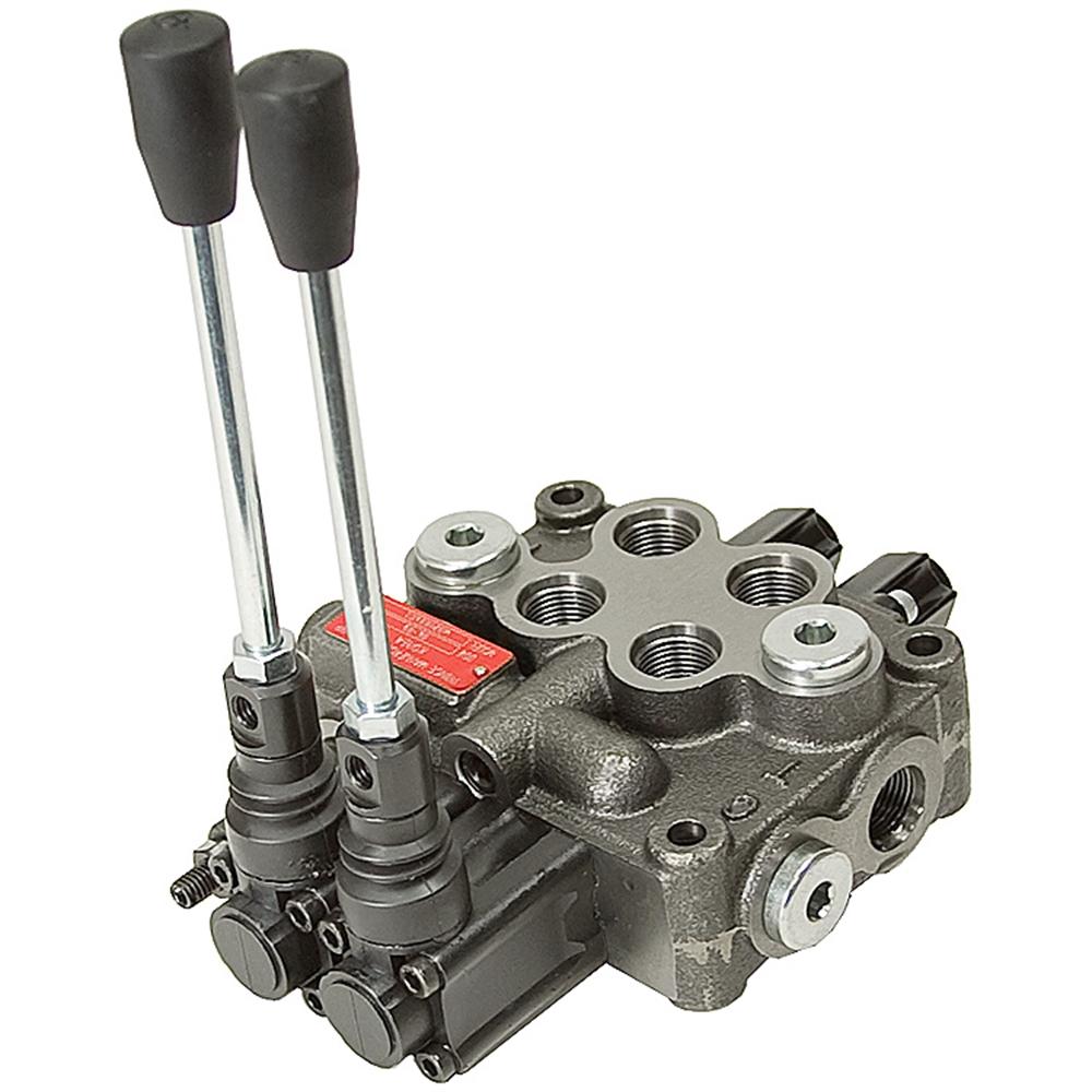 2 spool 8 gpm prince mb21bb5c1 da valve directional for Hydraulic motor spool valve