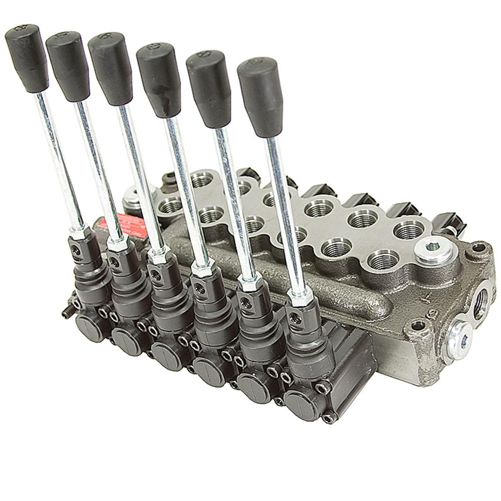 6 spool 8 gpm prince mb61bbbbbb5c1 da valve directional for Hydraulic motor spool valve